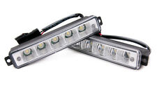 5 LED X-Treme High Power 15cm DRL Lights Daytime Running Lamp Auto Switch Audi
