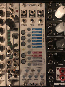 Intellijel Scales Dual Quantizer & Sequencer Eurorack Module
