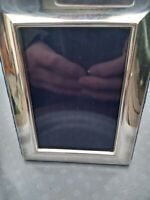 Great English Silver Hallmarked Art Deco Style Photograph Frame Carrs Unused+Box