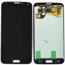 DISPLAY LCD +TOUCH SCREEN PER SAMSUNG GALAXY S5 SM-G900F NERO VETRO+ BIADESIVO