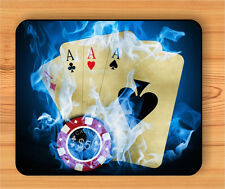 CASINO POKER CARD GAME MOUSE PAD -gbn8Z