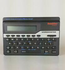 Franklin Wordmaster Deluxe Linguistic Technology Model Wm-1055!
