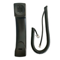 Polycom VVXHD Handset with Curly Cord
