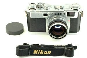 【 Near Mint Vintage 】Nikon S2 Early Chrom 50mm f/1.4 Rangefinder from Japan