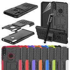 Heavy Duty Tough ShockProof Builder Case Cover For Huawei Phone Models