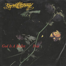 "7"" 45 TOURS CEE CONCRETE BLONDE ""God Is A Bullet / Free"" 1989"