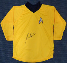 WILLIAM SHATNER AUTHENTIC AUTOGRAPHED SIGNED STAR TREK UNIFORM SHIRT JSA 159207