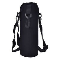 1000ML Outdoor Durable Water Bottle Carrier Insulated Cover Holder Strap Pouch*