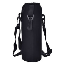 1000ML Outdoor Durable Water Bottle Carrier Insulated Cover Holder Strap-Hood