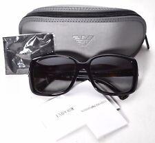 7c9fbdb49b6 Emporio Armani EA 4008 5017 8G Black Sunglasses 56-17-135 3N