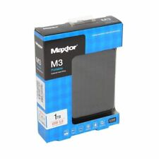 "New Maxtor M3 1TB 2.5"" USB 3 & 2.0 External Portable Hard Drive PC & Mac"