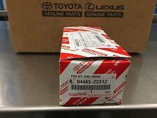 LEXUS OEM FACTORY FRONT BRAKE PAD SET SC430 GS400 GS430 IS300 GS300 04465-22312
