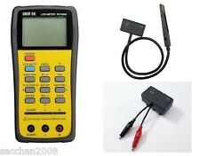 DER EE High Accuracy Handheld LCR Meter DE-5000 bundle TL-21 /TL-22
