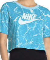 NIKE Womens Cropped T-shirt Top Size Small Sold Out At Stores