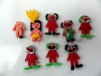 Lot de jouets KINDER année 80 / 90 kinder toys vintage figurines