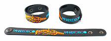 PANIC! AT THE DISCO  Rubber Bracelet Wristband Free Ship Too Weird to Live aa111