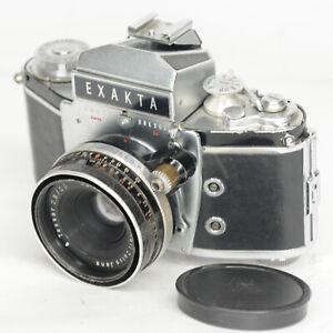 Exakta Varex II a early 35mm SLR Camera - Carl Zeiss 50mm f/2.8 (7016BL)