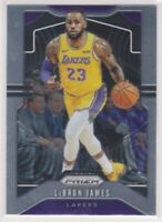 2019-20  LeBron James Panini Prizm NBA Basketball Card #129 Los Angeles Lakers B