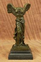 Bronze Nike Winged Victory Sculpture Statue Louvre Smothrace Art Statue Figurine