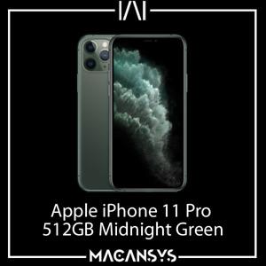 Apple iPhone 11 Pro 512 GB Midnight Green 5.8 Inch SmartPhone Unlocked MWCG2B/A