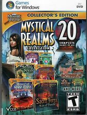 HOUSE OF 1000 DOORS 3 SERPENT FLAME Hidden Object 20 PACK MYSTICAL REALMS PC NEW