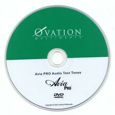 new AVIA PRO AUDIO UNBOUND Advanced Home Theater System Calibration Setup DVD