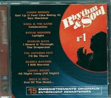 CD COMPIL 15 TITRES--RHYTHM & SOUL--BROWN/CHIC/WONDER..