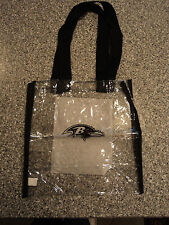 Baltimore Ravens Clear Game day Bag Travel Bag NEW  L@@K!