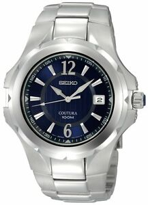 Seiko Coutura SGEE67 SGEE67P9 Blue Mens Premium Watch NEW WR100m RRP $695.00