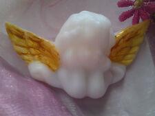 Wachsornamente Wanchsornament Kerzenkunst 3D Engel Verzierwachs Gold