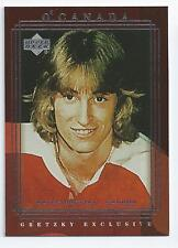 Wayne Gretzky 1999-00 Upper Deck Gretzky Exclusives Insert Card #31