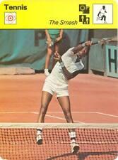 ARTHUR ASHE - THE SMASH 1979 Sportscaster Card #61-01 High #