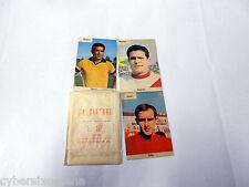BUSTINA piena 3 figurine Calciatori saim anni 60 ( saim B )