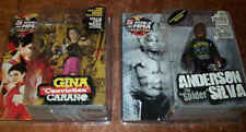 ANDERSON SILVA & GINA CARANO ROUND 5 UFC VARIANT FIGURE