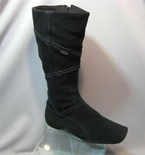 KangaROOS Goon Boots Womens Flat Black Boots Mid Calf High Black Boots size 6
