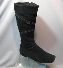 KangaROOS Goon Boots Womens Flat Black Boots Mid Calf High Black Boots size 6