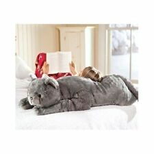 Stuffed Animal Cat Big Giant Plush Toy Gift Kitten Body Pillow Jumbo Large New!