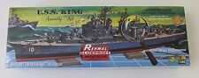 Revell/ Renwal USS King Guided Missile Destroyer Reissue SSP 1/500 85-0603 ST