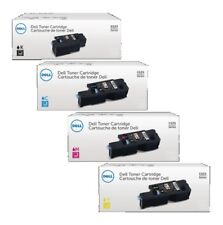 4 x Original Toner DELL E525 E525w / DPV4T H5WFX G20VW 3581G Cartridges Set