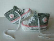 Handgestrickte Babyschuhe Babysocken gestrickt ca.9cm 0-3M