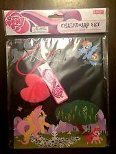 My Little Pony Chalkboard set NEW