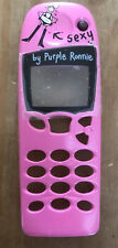 REPLACEMENT FRONT FASCIA HOUSING COVER - NOKIA 5110 5130 5146 - PURPLE RONNIE