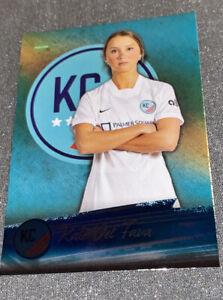 Kate Del Fava 2021 Parkside NWSL Soccer Foil Parallel #120 Rare 1/1400