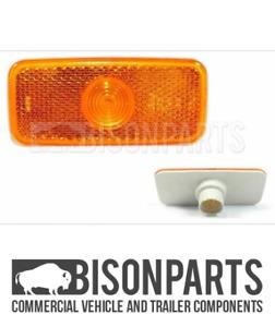 *FITS FORD TRANSIT MK7 (2006 - 2014) AMBER SIDE MARKER LAMP LENS ONLY TRA141