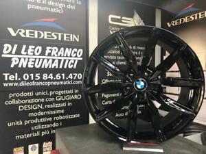SET CERCHI IN LEGA BMW DA 19 MAK ALLIANZ GLOSS BLACK(ruote campione)