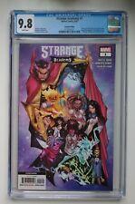 STRANGE ACADEMY #1, CGC 9.8 NM/MT, 2nd printing Marvel Comics 7/2020