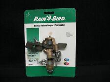 NOS Rain Bird Brass Deluxe Impact Sprinkler 25P JDA-C