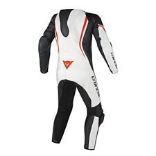 Assen 1 PC Perf. sui - Dainese Bianco/nero/rosso-fluo 52