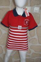 Joli tee_shirt garçon  rouge de marque AEROPILOTE  taille 12 ans (dy)