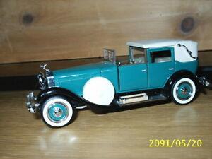 1:43 Franklin Mint - ISOTTA FRASCHINI type 8A coupé de ville 1928